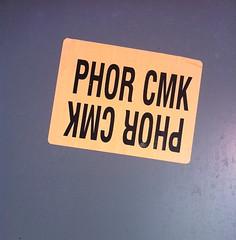 PHOR (billy craven) Tags: chicago four graffiti sticker handstyles cmk slaptag phor