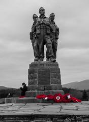Commando Memorial (markingram1984) Tags: mountain landscape scotland memoria