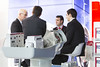 """A business meeting taking place in the exhibition area   <a style=""""font-size:0.8em;"""" href=""""http://www.flickr.com/photos/38174696@N07/10962605575/sizes/o/"""" target=""""_blank"""" class=""""download"""">Download high-res</a>"""