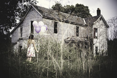 Late (noxreallyxhonest) Tags: abandoned balloons