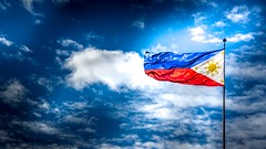 Land of the Strong (chris.querobines) Tags: light hope flag philippines strong philippineflag haiyan yolanda