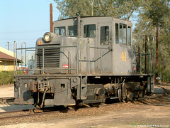 OERM 41 Perris CA March 2003 a (Engine Shed) Tags: orange museum railway empire marchafb piszczek ge45ton usaf7441