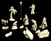 Porcelain Origami: Nativity