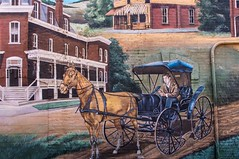 The Carriage Boy (jwcjr) Tags: mural barnesvillega barnesvillegeorgia smalltownga barnesvillemural
