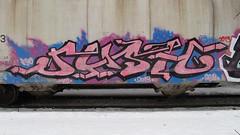 rush (m_ts42) Tags: minnesota train graffiti pieces traintracks minneapolis rail trains rush tc gondola spraypaint twincities graff saintpaul freight rushgraffiti fuckanonion
