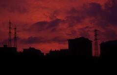 Sunrise (luca.dellepiane) Tags: winter red black sunrise photo cool alba goodmorning inverno rosso colori freddo mattina