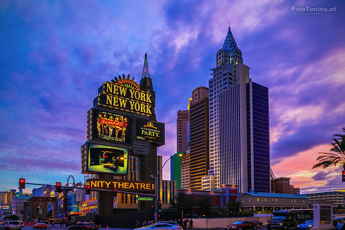 Las Vegas - New York, New York...