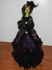 Lady of the Forest (Mittebam) Tags: green set dress purple jena sd bjd gown dollheart greenlady resinsoul coillemor