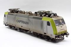 Captrain 186 148 (Romar Keijser) Tags: scale train br ct 186 ho 187 piko treinen schaal 148 modelspoor h0 modelbouw modeltreinen vervuild modeltrein captrain vervuilen weatheren