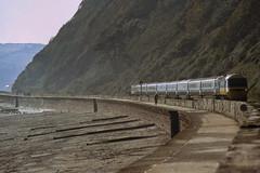 Teignmouth (Neil Pulling) Tags: train br railway devon hst teignmouth britishrailways highspeedtrain southdevon class43