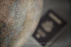 Globe P52/4 (Tia Benningfield) Tags: world travel vintage globe map passport p52