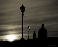 (-dubliner-) Tags: sunset lamp florence streetlamp chiesa sanfrediano cestello