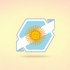 ~REP ARG~ ( MSSIVE PRJCT ) Tags: sun sol argentina logo graphicdesign badges vector escudo diseografico soldemayo vectores