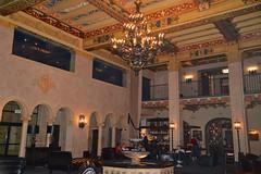 Roosevelt Hotel's beautiful lobby.