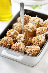 Healthy meat balls with rice, carrot and onion (Oxana Denezhkina) Tags: food white chicken cooking dinner ball recipe lunch cuisine rice sauce beef culture balls tasty plate fresh meat gourmet delicious pork homemade meal appetizer cooked fried meatballs meatball packed nutrition minced