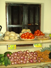 pantry of vegetables