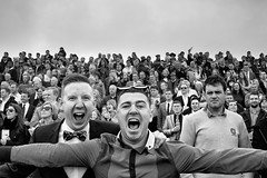 winners and losers (zip po) Tags: street ireland people blackandwhite monochrome horseracing punchestown