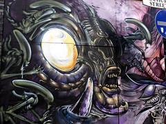 Nostromo I (IngeniousImages) Tags: street city uk england urban streetart london art graffiti britain gb urbex
