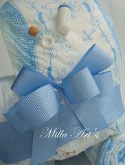 detalhes (Milla Art's) Tags: azul bebê menino mamadeira chupeta laços