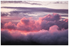 *** (Spartaxus) Tags: sunset clouds analog beskidy rossman200