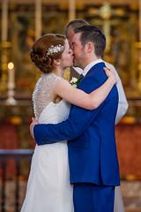 Tracey & Matt - April 2014 (Polly-Thomas) Tags: wedding england love church groom bride kiss couple weddingdress cirencester weddingphotographer firstkiss weddingphotography nikon70200mmf28 pollyandsimon nikond3s pollysimon
