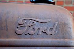 Rusted Ford (pjpink) Tags: summer urban ford june virginia rusty richmond rusted rva 2014 shockoe pjpink