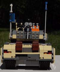 Rear (Joe_W_Turner) Tags: modern germany tank lego military main battle leopard ii german mbt a8 moc