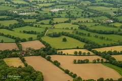 Surrey, England from air 4