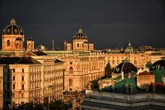 sun after rain (paddy_bb) Tags: vienna wien travel sunset sky cloud sun storm austria evening österreich cityscape 2014 nikond5300 paddybb