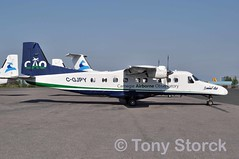 C-GJPY (bwi2muc) Tags: plane airplane flying airport aircraft aviation summit yzf dornier dornier228 summitair cgjpy yellowknifeinternationalairport carnegieairborneobservatory