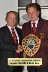 027-Andrew Corfield & 'Invisible' David Dow-Winter Greensomes Trophy Winners (Neville Wootton Photography) Tags: 2016golfseason andrewcorfield daviddow golfsectionmens presentationnights richardthompson stmelliongolfclub winners wintergreensomestrophy saltash england unitedkingdom