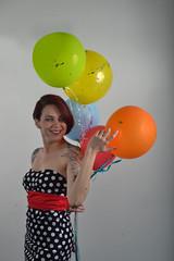 _DSC0257 (jozhycardona) Tags: model modelo inked girl red hair photoshoot honduras photography greatshot confetti fun colorfull colores globos cintas vestidos fashion tattoos tatuajes inspired funny umbrella estudio photostudio colors