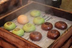 Japanese Pastries (Toni Kaarttinen) Tags: japan  japonia    jap japonsko jaapan  japani japon xapn    japn jepang an tseapin giappone  japna japonija  japo  japonska japn hapon  japonya nht bn japanese kawasaki spring pastry pastries bun steam