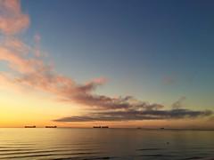 Sunrise! (laura_cf90) Tags: naturaleza septiembre mar playa lalneadelaconcepcin amanecer