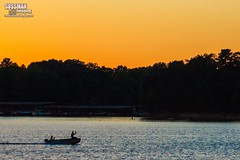 Sunset Boating (The Suss-Man (Mike)) Tags: boat gainesville georgia hallcounty hollypark lake lakelanier lanier nature sky sonyslta77 sunset sussmanimaging thesussman unitedstates