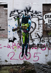 HH-Wheatpaste 3086 (cmdpirx) Tags: hamburg germany reclaim your city urban street art streetart artist kuenstler graffiti aerosol spray can paint piece painting drawing colour color farbe spraydose dose marker stift kreide chalk stencil schablone wall wand nikon d7100 paper pappe paste up pastup pastie wheatepaste wheatpaste pasted glue kleister kleber cement cutout