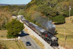 TVRM 4501 Chickamauga GA 23 Oct 2016 (Train Chaser) Tags: tvrm4501 tennesseevalleyrailwaymuseum steam steamengine
