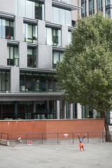 London (stefanopad82) Tags: london uk boy dancer tree street corner building architecture city