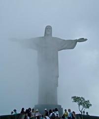 Corcovado, Rio de Janeiro, Brazil (susiefleckney) Tags: corcovado riodejaneiro brazil christtheredeemer cristoredentor