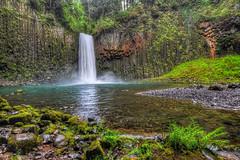 Abiqua Falls (markwhitt) Tags: markwhitt markwhittphotography oregon usa abiquafalls waterfall travel adventure vacation water amphitheater spectacular scenic scenery beautiful beauty colorful muddy slippery landscape nature
