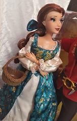 Belle and Gaston Designer Fairytale Collection (myuoi) Tags: belle beauty beast gaston emma watson walt disney srore doll limited designer edition collection fairytale hero villain classic movie cinema new blue dress halloween
