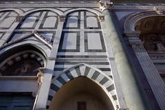 Alberti, Santa Maria Novella façade