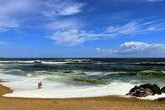 Infinity................................ Love (IVAN 63) Tags: oporto portugal sea water sky cloud bay beach plaia praia porto fozdodouro portogallo