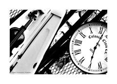 Music versus Time (ice2meatu) Tags: blackandwhite music time violin retro photography eternity melancholy