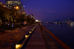Kwun Tong Boardwalk (ChrisNevin) Tags: hongkong boardwalk kwuntong dusk