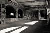 Subway Monotone (gregador) Tags: rochester ny subway graffiti aqueduct geneseeriver abandoned urbex blackandwhite urbanexploring urbanexploration