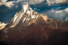 Machapuchare (Fishtail), Annapurna Himalayas, Nepal (CamelKW) Tags: nepal annapurna himalayas machapuchare fishtail