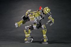 AG-10 Hoodoo (legoricola) Tags: mech scifi robot robotech toy lego