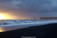 _MG_3134 (photography.lenaa) Tags: blacksandbeach beach stone black water sea ocean blue sun iceland