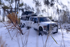 Ford F-350 6 door 6wd 25 (My Scale Passion) Tags: ford f350 meng monogram losi micro mini crawler scale rc modeling custom snow snowrun crawling climbing expedition northpole southpole truck double dual dually duallie 6door 10wd 10x10 125 124 miniz overland landcruiser build